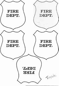 firefighter hat template printable invitation templates With firefighter hat template preschool