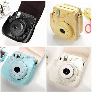 Camera Shoulder Bag Leather Case Cover For Fujifilm Fuji ...
