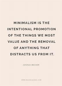 Best 25+ Minima... Simplicity Minimalist Quotes