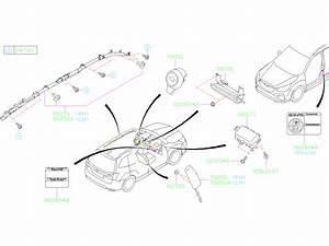 2019 Subaru Forester Air Bag Module Assembly