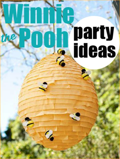 winnie  pooh party paiges party ideas