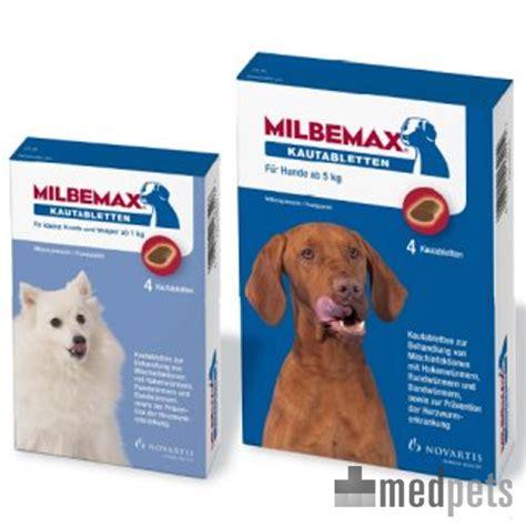 milbemax kautabletten wurmkur fuer hunde