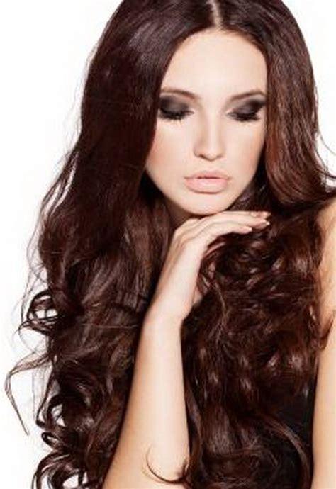 ideas  dark mahogany hair  pinterest