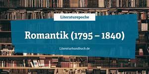 Romantik In Der Literatur : epochen romantik 1798 1840 ~ Watch28wear.com Haus und Dekorationen