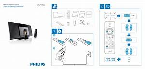 Philips Micro Music System Dcm3060  98 Quick Start Guide