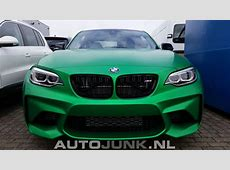 BMW M2 Coupé MattGrüne Folierung individualisiert F87