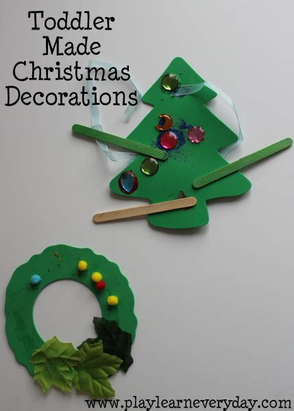 toddler  christmas decorations play  learn  day