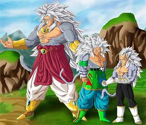SSJ 5 Trinity by ruga-rell on DeviantArt