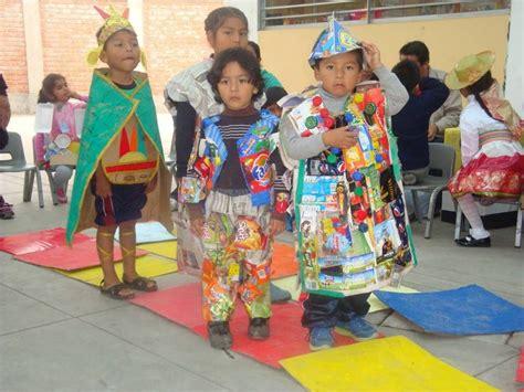 ropa de material reciclado para ni 241 os quot ni 241 os con ropa de reciclaje quot cuando de creatividad se