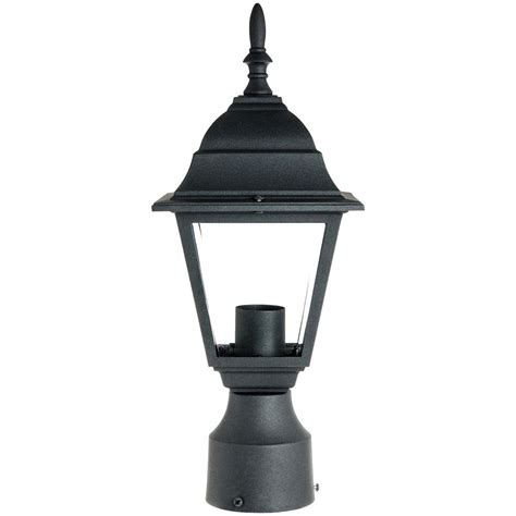 outdoor l post lights sunlite odi1150 15inch decorative light post outdoor