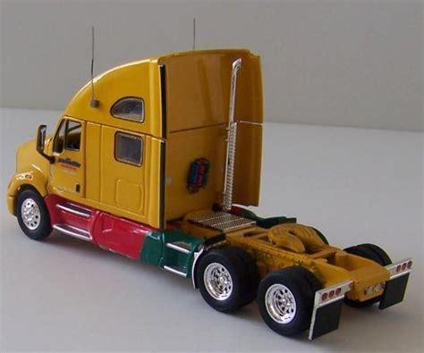 model semi trucks tonkin diecast metal kenworth t700 semi truck model 1 53