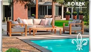 Garten Lounge Sofa : gartenlounge set von borek miami beach ~ Markanthonyermac.com Haus und Dekorationen