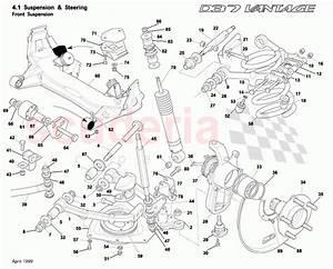 Aston Martin Db7 Vantage Front Suspension Parts