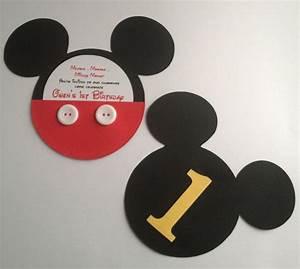 Mickey Mouse Geburtstag : die besten 25 mickey mouse einladung ideen auf pinterest mickymaus motto party micky party ~ Orissabook.com Haus und Dekorationen