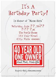 Funny birthday invites wording and templates bagvania for Funny printable wedding invitations templates