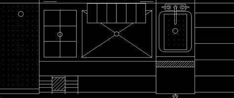 equipamiento cocina industrial en autocad cad  kb