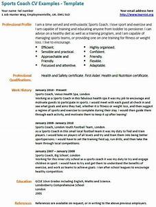 athletic coach resume template pdf pictures With athletic resume template free