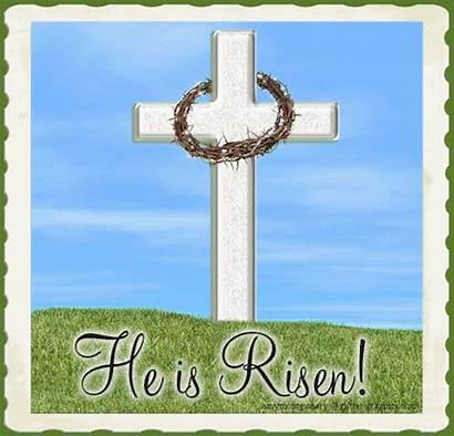 Croix Easter Ressuscite Prieres Couronne Est Graphics