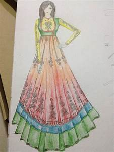 91 best Indian wear sketches! :) images on Pinterest ...