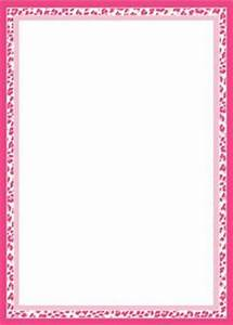 Cheetah print border. Free downloads at http://pageborders ...