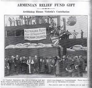 Armenian Relief Fund of Australia - Armenian Genocide ...