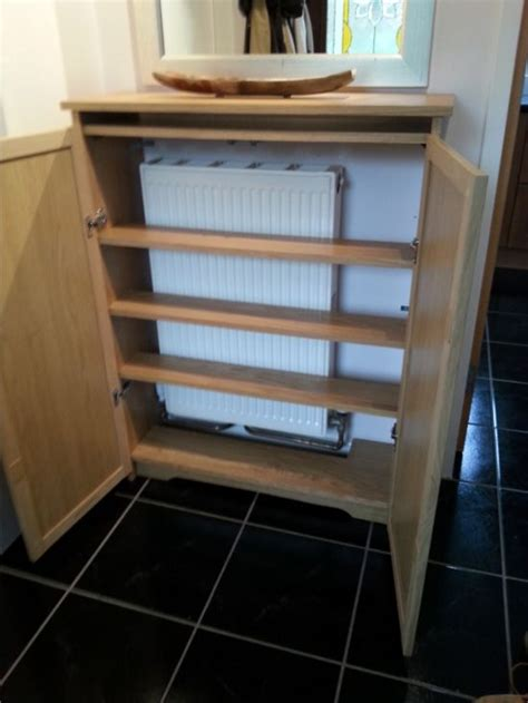 Radiator Cabinet With Shelves by Radiator Cover From Billy Bookcase Ikea Hackers Http