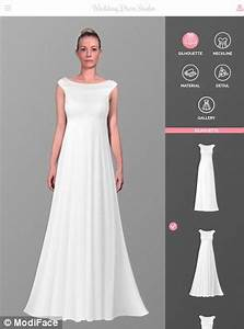 Wedding dress studio ipad app allows brides to be to try for Wedding dresses app