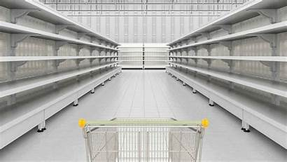 Empty Shelves Coronavirus Tag