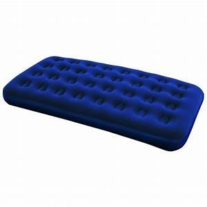 Matelas 1 Personne But : matelas gonflable 1 personne lit d 39 appoint bestway xl floqu ~ Dode.kayakingforconservation.com Idées de Décoration