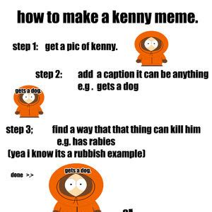 Make Your Own Facebook Meme - related keywords suggestions for kenny meme