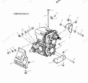 Polaris Side By Side 2004 Oem Parts Diagram For