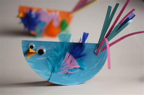 spring crafts  kids flower crafts animal crafts bird