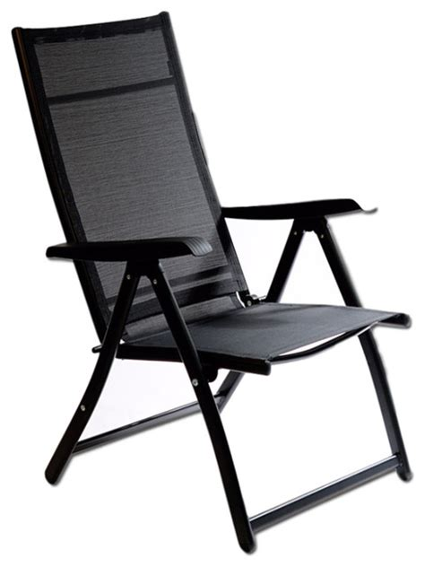 heavy duty adjustable reclining folding chair modern