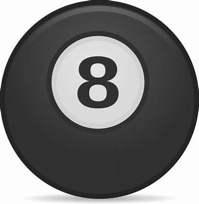 Ball Magic Billiard Eight Clipart Clip Transparent