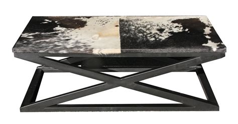 Cowhide Coffee Table by Cowhide Coffee Table Available From Bimbo Store