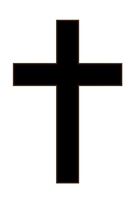 Image result for small black and white cross