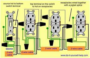 How To Wire Outlets And Lights On Same Circuit