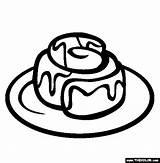 Coloring Sweet Cinnamon Roll Treats Buns Ihop Thecolor Rolls Bun Pancakes Tomorrow Jawar sketch template