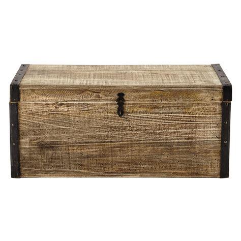 bout canapé en bois l 80 cm kaelig maisons du monde