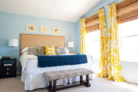 Yellow And Blue Master Bedroom by Behr Paint Favorite Paint Colors