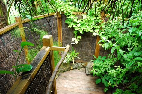 Tropical Shower by Design Idea Outdoor Shower River Glass Designs Md