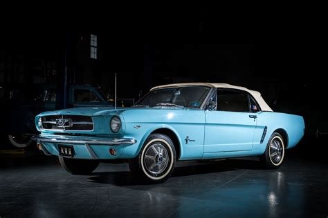 Classic Fords by Two Classic Unrestored Ford Mustangs To Be Display In
