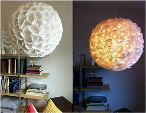 Lampions Selber Machen : lampenschirm selber machen bastelideen aus ~ Lizthompson.info Haus und Dekorationen