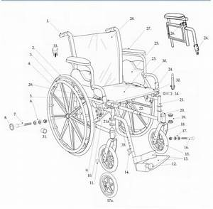 Cruiser Iii Wheelchair Replacement Parts In Parts For Cruiser Iii Wheelchair With 4s By Drive