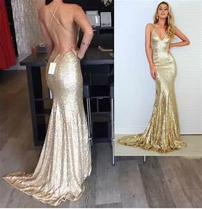Aliexpress.com : Buy Real Picture Champagne Gold Mermaid ...