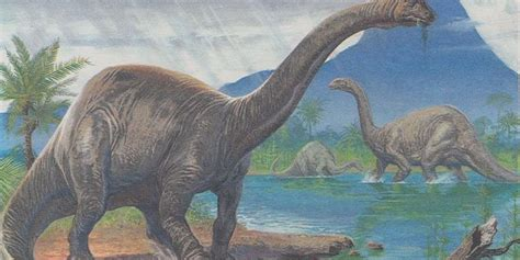 brontosaurus dinosaur    thundering comeback