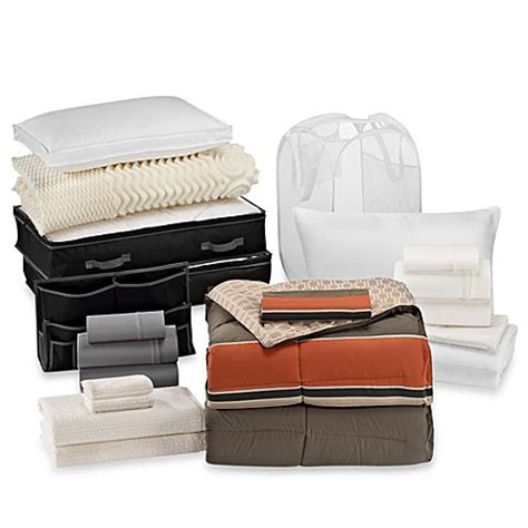 Cadet 21piece Classic Dorm Room Kit  Bed Bath & Beyond