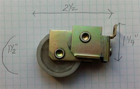 sliding closet door rollers replacement replacement roller for sliding closet door swisco