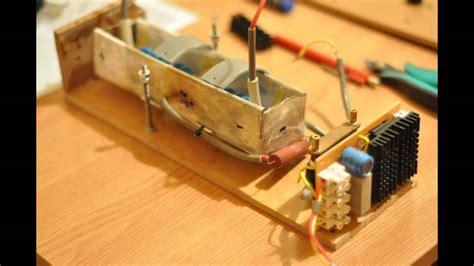 Diy High Voltage Supply Youtube