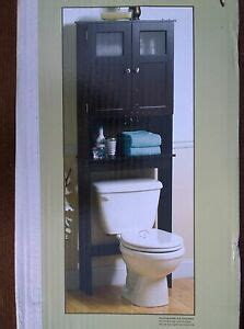 Wood Bathroom Etagere by Nib Bath Espresso Finish Wood Toilet Etagere